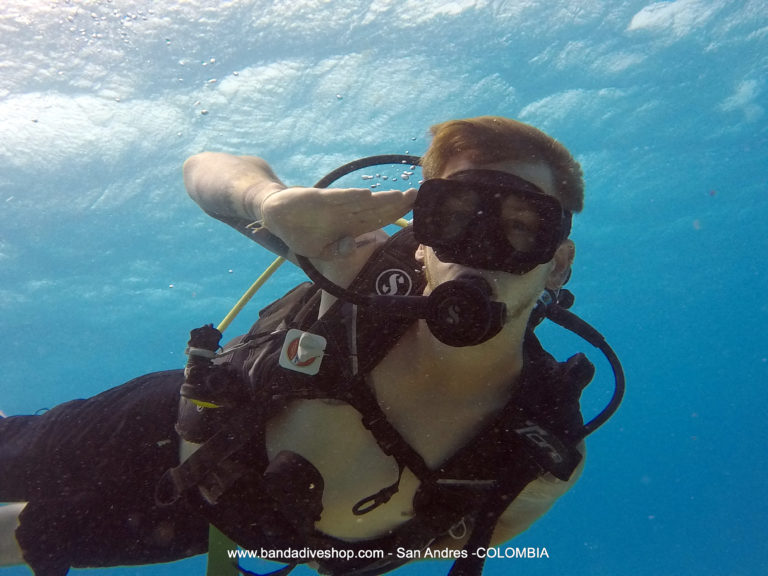 Scuba Refresher Checklist menu