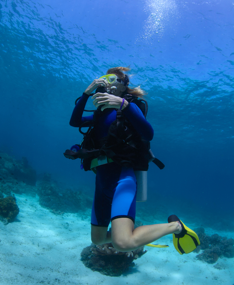 Scuba Diving Equalizing
